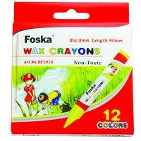 12 colors Crayons Foska Jumbo
