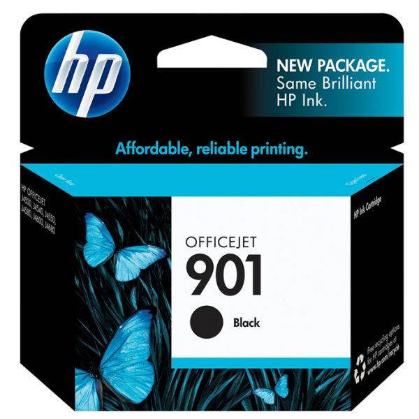 HP 901   Ink Cartridge   Black   CC653AN