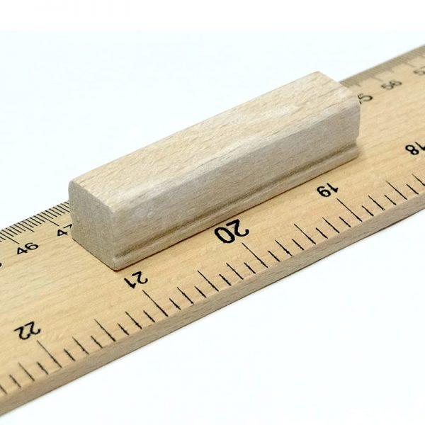 Black Board 1 Metre - Wooden Ruler