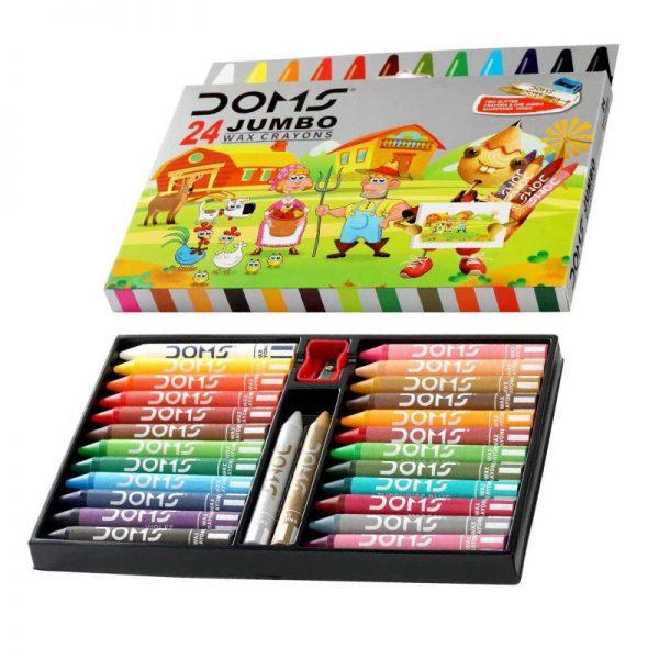Doms Crayons Jumbo