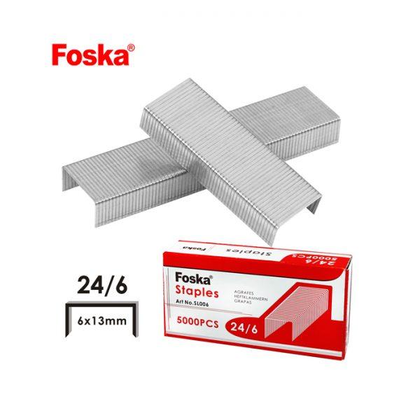 Foska Staple Pins - 24/6 1000's