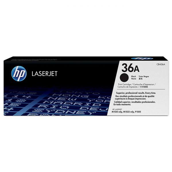 HP 36A   CB436A   Toner Cartridge   Black