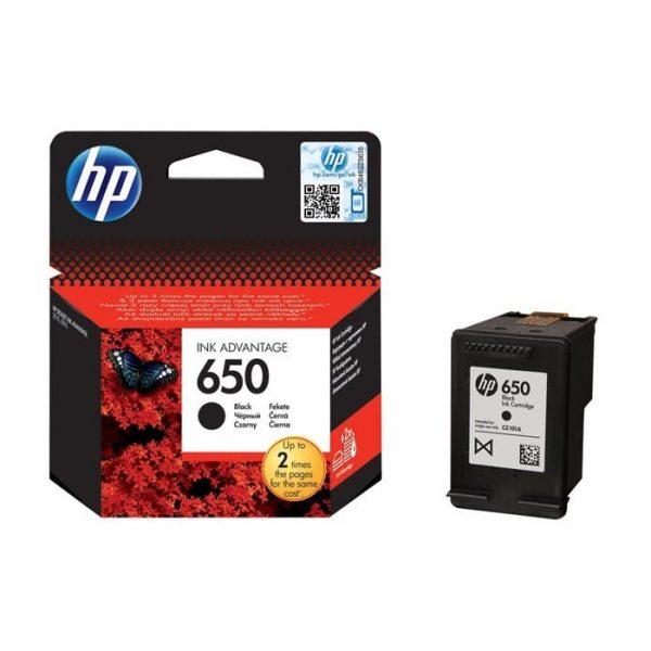 HP 650 Black Ink Advantage Cartridge (CZ101AE)