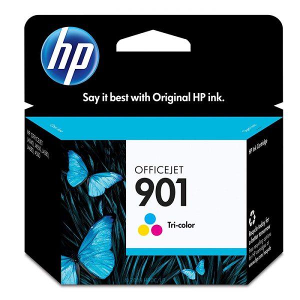 HP 901   Ink Cartridge   Tri-Color   CC656AN