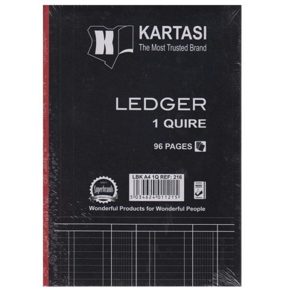 Kartasi Ledger Book A4 1 Quire