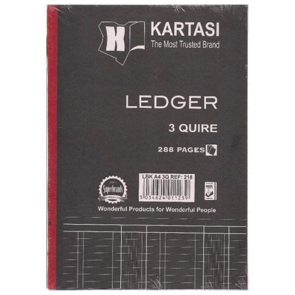 Kartasi Ledger Book A4 3 Quire