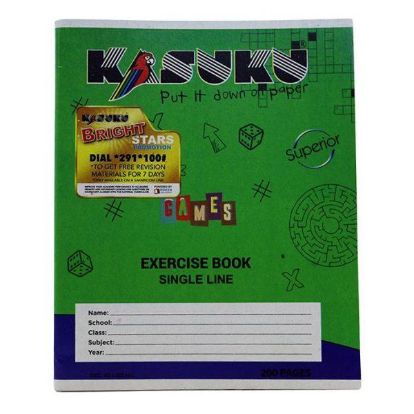 Kasuku Chip Ex Bk S/L 200 Pages A5