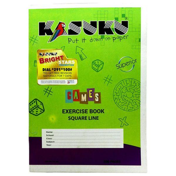 Kasuku Chip Ex Bk SQ/L 200 Pages A4