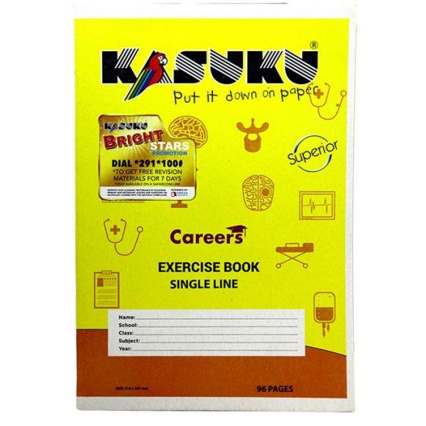 Kasuku Ex. Bk Chip 96PGS S/L A4