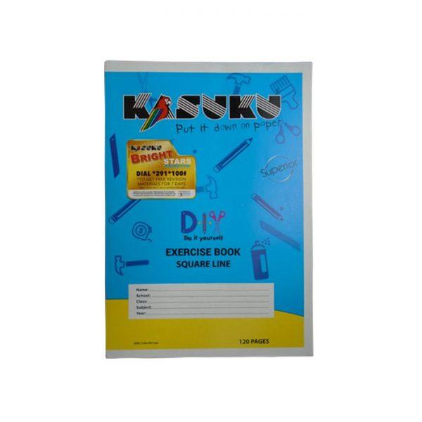 Kasuku Ex Bk SQ/L 120 Pages