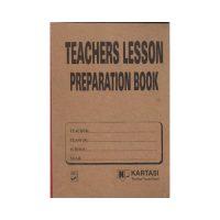 Lesson Plan Book Kartasi
