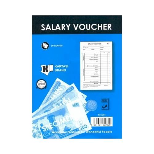 Salary Voucher A5