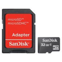 Sandisk 32 GB Mem, Micro SD, Memory Card 2