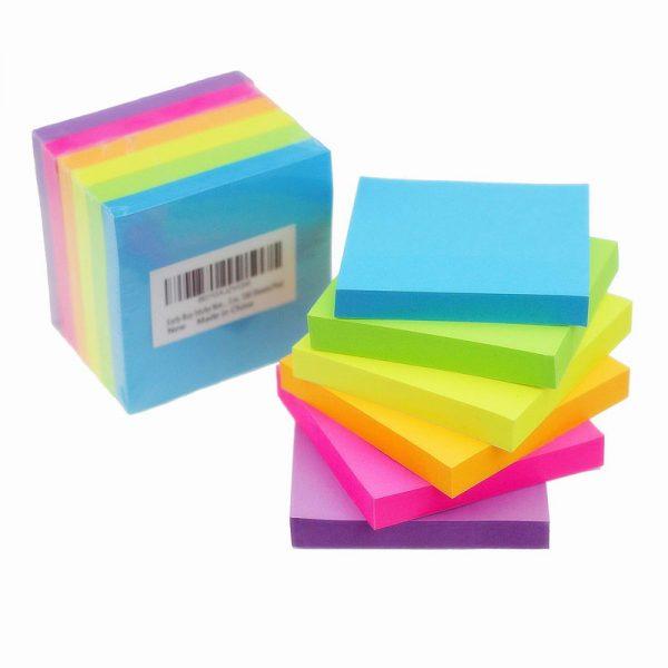 Stick Notes 3 X 3 - Flourescent