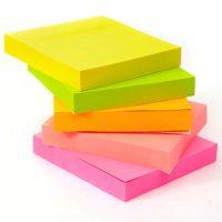 Stick Notes 3 X 3 - Flourescent 1