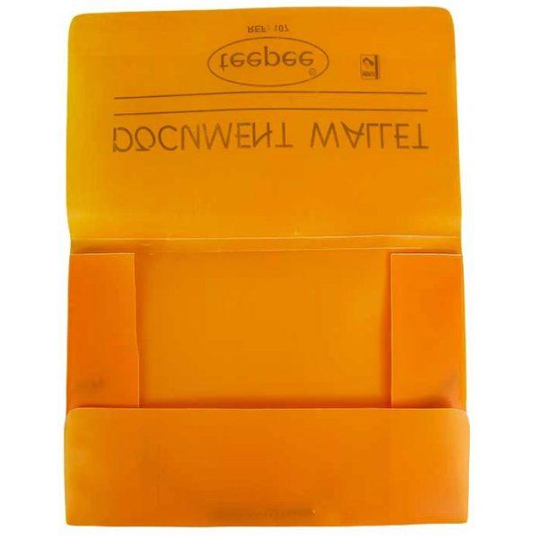 Teepee Document Wallet, PVC