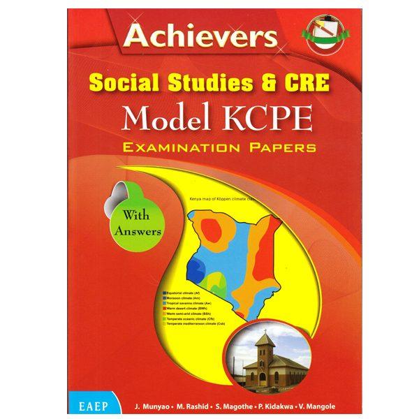 Achievers Social Studies & CRE Model KCPE